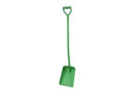 716100103-5 - Schop FBK hoogwaardige kleurcode ergonomische hygiënische polypropyleen 270 x 340 x 1330 mm groen 15103