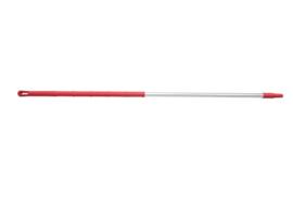93260104-3 - FBK Ergonimic handvat aluminium steel 1750 x 32 mm kleurcode HACCP rood 29815