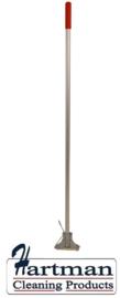 830109 - SYR Verzinkte Kentucky mophouder met aluminium steel 1370 mm kleurcode rood
