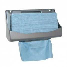 353131 - X-Wipe blauwe doek in Euro box met 400 vellen. Afmeting vel 42 x 34 cm