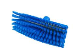 807151006-2 - Polyester FBK  wasborstel vezels in hars gegoten kleurcode HACCP 280 mm x 48 mm medium blauw 93155