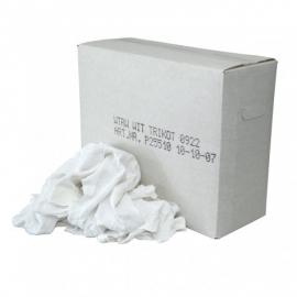 P25510 - WTRW - witte tricot poetslappen 10KG