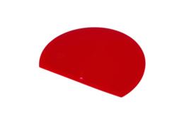 62680117 - Hoogwaardige kleurcode HACCP hygiënische deegschraper 160 x 125rood