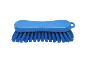 20030124-2 - FBK Polyester werkborstel kleurcode HACCP 210 mm x 70 mm medium vezel blauw 10564