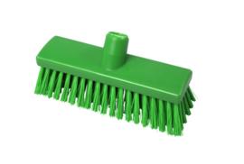 215161011-5 - Inwasborstel waterdoorlatend FBK hoogwaardige kleurcode HACCP FBK hygiënische polyester 250 x 60 mm gespleten vezel zacht groen 22155