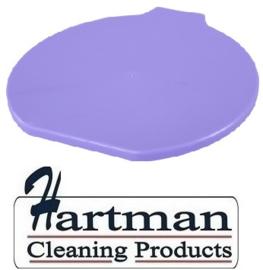 317106102-8 - FBK Deksel voor emmer 15 liter hoogwaardige kleurcode HACCP hygiënische polypropyleen  paars 80111