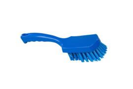 30530111-2 - FBK Handborstel kleurcode HACCP hoogwaardig medium vezel, 275 x 70 mm blauw 10546