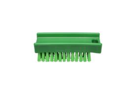 30130137-5 - FBK Nagelborstel hoogwaardig polyester kleurcode HACCP 110 x 45 mm harde vezel, groen 15061