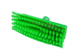 800151005-5 - Polyester wasborstel vezels in hars gegoten kleurcode HACCP 280 mm x 48 mm zacht groen 93135