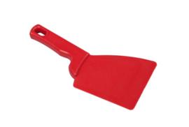 426141013 - Spatel polypropyleen kleurcode HACCP Metal + X-Ray dedecteerbaar 100 mm x 240 mm rood