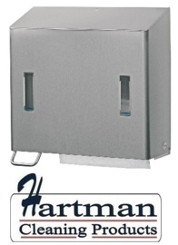 S1419953 - Santral RVS Zeep/Handdoekdispenser classic afsluitbaar 1200 ml