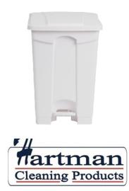 DC709 - Jantex keuken pedaalemmer wit 45ltr