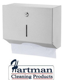 3804-2 - RVS handdoekdispenser klein, CSH-CS. Basic Line