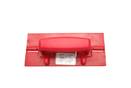 60070107-3 - FBK Handpadhouder hoogwaardige kleurcode HACCP hygiënische polyester 230 x 100 mm, rood 57101