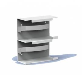 8485 - Handschoendispenser duo aluminium, MQDGDA