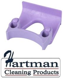 710102108-8 - FBK Klem voor wand railophangsysteem kleurcode HACCP ø 28 - 38 mm paars 15151