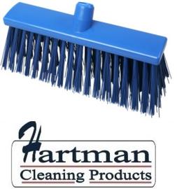 22310132-2 - FBK Hoogwaardige kleurcode HACCP Polyester hygiënische kunststof harde bezem 300 x 60 mm blauw 23190
