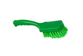 31430112-5 - FBK Handborstel kleurcode HACCP hoogwaardig harde vezel, 275 x 70 mm groen 10548