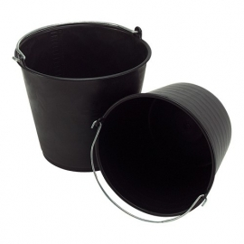821002 - Emmer kunststof zwart 20 liter