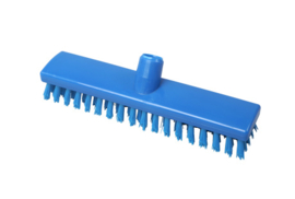 742161001-2 - FBK Hoogwaardige polyester schrobber 300 x 60 mm hard waterdoorlatend blauw 24153