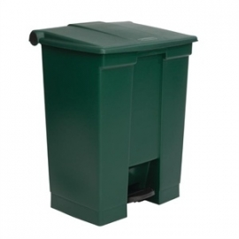 GG988 - Rubbermaid afvalcontainer groen 68ltr