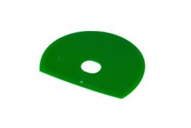 61280115 - Hoogwaardige kleurcode HACCP hygiënische deegschraper 160 x 125 mm,groen