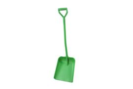 710100102-5 - Schop FBK hoogwaardige kleurcode ergonomische hygiënische polypropyleen 330 x 380 x 1120 mm groen 14104
