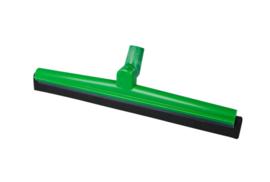 19112119-5 - FBK HCS Vloertrekker met zwenkbare kop en vervangbare zwart rubber 500 mm, groen 28556