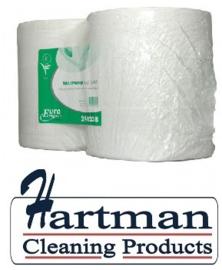 240238 - Toiletpapier tissue euro maxi jumbo, 2-laags 380 mtr - 6 rol p/pak