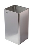 11074 - Afvalbak hoogglans 80 liter open MEDICLINICS