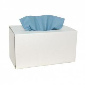 353732 - X-Wipe blauwe doek in Euro box met 160 vellen. Afmeting vel 42 x 34 cm