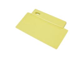 423141012 - Spatel polypropyleen kleurcode HACCP Metal + X-Ray dedecteerbaar 200 mm x 125 mm geel