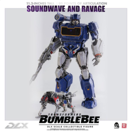 ThreeZero Transformers Bumblebee DLX AF 2-Pack 1/6 Soundwave & Ravage