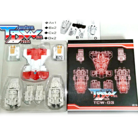 Transform Dream Wave TCW-03 Superion Upgrade Set