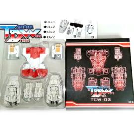 Transform Dream Wave TCW-03 Superion Upgrade Set