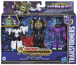 Hasbro Cyberverse Quintesson Invasion 3-Pack