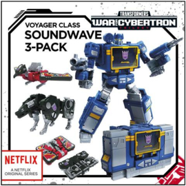 Hasbro Netflix Siege of Cybertron Voyager Soundwave - Pre order