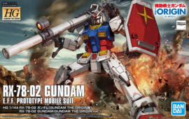 1/144 HGGTO RX-78-02 Gundam (Gundam The Origin Ver.)