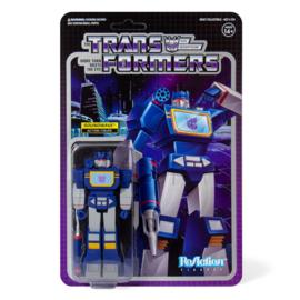 Super7 Transformers ReAction Soundwave