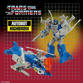 Hasbro Retro Headmasters Deluxe Highbrow
