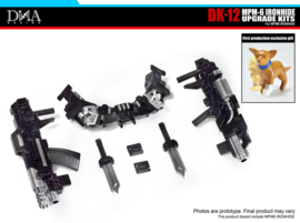 DNA Design DK-12 MPM-6 Ironhide upgrade kit - pre order