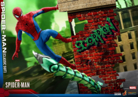 Hot Toys Marvel's Spider-Man Video Game Masterpiece AF 1/6 Spider-Man (Classic Suit) - Pre order