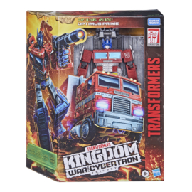 Hasbro WFC Kingdom Leader Optimus Prime