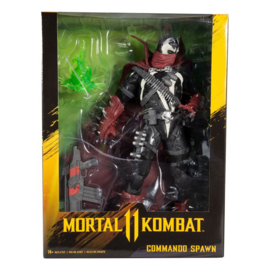 McFarlane Toys Mortal Kombat AF Commando Spawn [Dark Ages Skin]