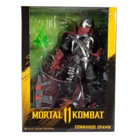 McFarlane Toys Mortal Kombat AF Commando Spawn [Dark Ages Skin]