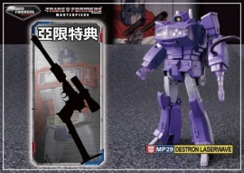 Takara Masterpiece MP-29 Shockwave with Megatron Gun
