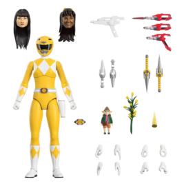 Super7 Mighty Morphin Power Rangers Ultimates AF Yellow Ranger - Pre order
