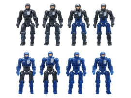 Diaclone Reboot DA-04 Dia-Naughts Set of 8