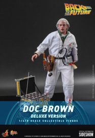 Hot Toys Back To The Future MM AF 1/6 Doc Brown Deluxe Version  - Pre order