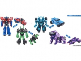 Takara TAV-35 EX Collection Autobot Vs. Decepticon Set